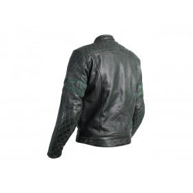Veste cuir RST Hillberry CE vert taille 2XL homme