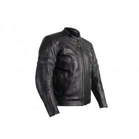 Veste cuir RST Hillberry CE noir taille L homme