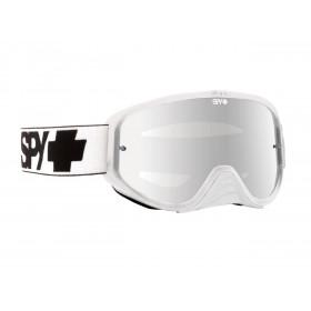 Masque SPY Woot White blanc écran clair