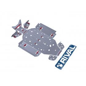 Kit Sabot complet RIVAL alu Polaris RZR 570