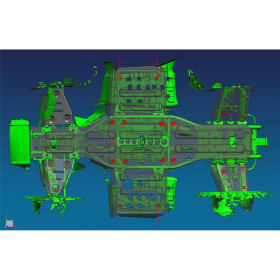 Kit Sabot complet RIVAL alu Kymco MXU 500i/550i/700i