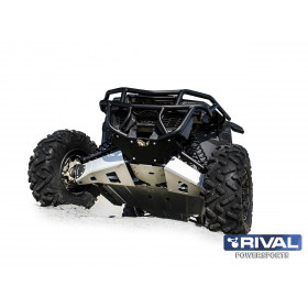 Kit protection de triangles avant RIVAL alu Can-Am Maverick X3 XDS