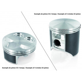 Piston S3 coulé Ø53,96mm compression standard Jotagas JT125