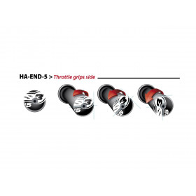 Embouts de guidons S3 End 5 Ø14mm or