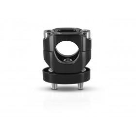 Pontets de guidon S3 ajustables hauteur +13mm noir