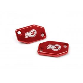 Couvercle de maître-cylindre embrayage S3 rouge Braktec