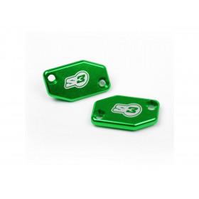 Couvercle de maître-cylindre embrayage S3 vert Braktec