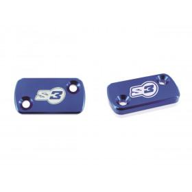 Couvercle de maître-cylindre S3 large bleu AJP