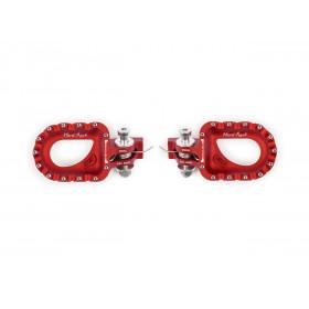 Repose-pieds S3 Hard Rock aluminium rouge