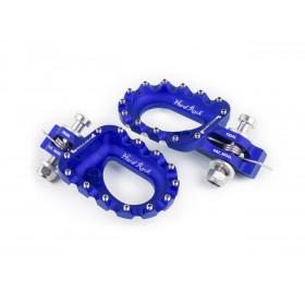 Repose-pieds S3 Hard Rock aluminium bleu