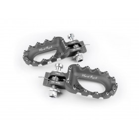 Repose-pieds S3 Hard Rock aluminium titane