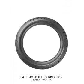 Pneu BRIDGESTONE BATTLAX T31 REAR G VERSYS 180/55 ZR 17 M/C (73W) TL