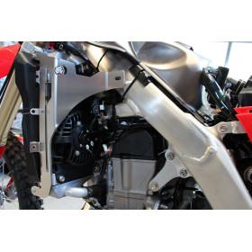 Protection de radiateur AXP alu rouge Honda CRF450L