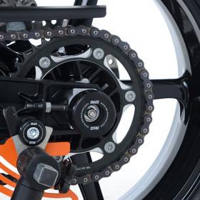 Protection de bras oscillant R&G RACING noir Husqvarna Vitpilen 701
