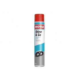 Nettoyant silicone MOTUL Shine & Go Gamme Atelier spray 750ml