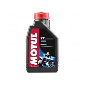 Huile moteur MOTUL 100 2T Minérale 1L