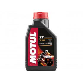 Huile moteur MOTUL 710 2T 100% synthèse 1L