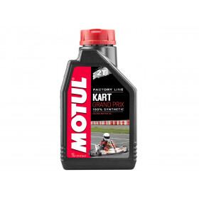 Huile moteur MOTUL Kart Grand Prix Racing 2T 100% synthèse 1L