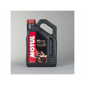 Huile moteur MOTUL 710 2T 100% synthèse 4L