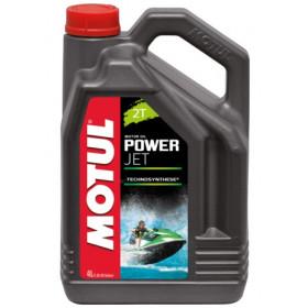 Huile moteur MOTUL Power Jet 2T 100% synthèse 4L