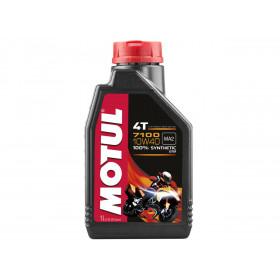Huile moteur MOTUL 7100 4T 10W40 100% synthèse 1L