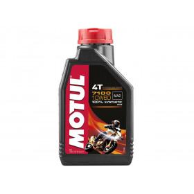 Huile moteur MOTUL 7100 4T 10W60 100% synthèse 1L
