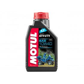 Huile moteur MOTUL ATV-UTV 4T 10W40 Minérale 1L