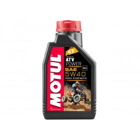 Huile moteur MOTUL ATV Power 4T 5W40 100% synthèse 1L