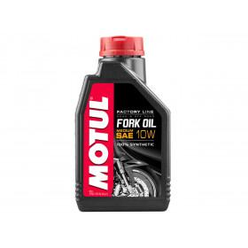 Huile de fourche MOTUL Fork Oil Factory Line 10W 100% synthèse 1L