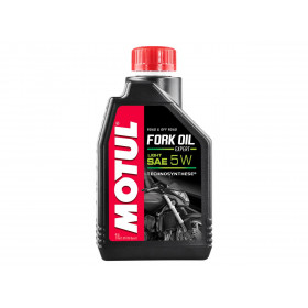 Huile de fourche MOTUL Fork Oil Expert 5W Semi-synthèse 1L