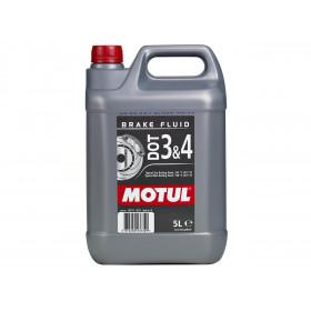 Liquide de frein MOTUL Dot 3 & 4 5L