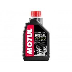 Huile d'amortisseur MOTUL Factory Line Shock Oil VI400 Semi-synthèse 1L