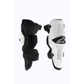 SX-1 KNEE GUARD WHITE BLACK S/M