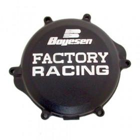 Couvercle de carter d'embrayage BOYESEN Factory Racing alu noir Suzuki RM-Z250