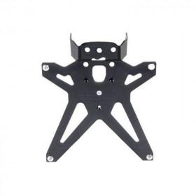 Support de plaque réglable LIGHTECH noir Yamaha YZF-R1