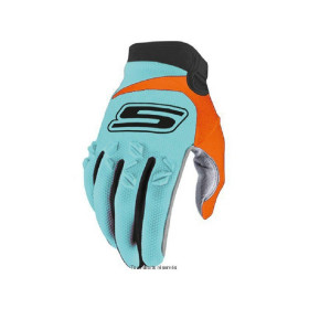 GANTS CROSS BLEU-ORANGE L CROSS US HOMOL