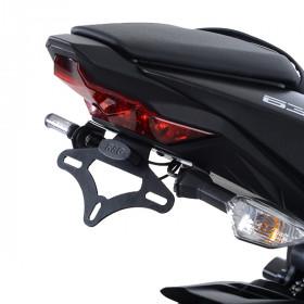 Support de plaque R&G RACING noir Kawasaki ZX636