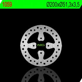 Disque de frein NG 1059 rond fixe