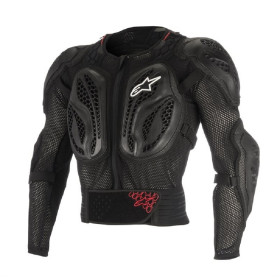BIONIC ACTION JACKET BLACK RED L