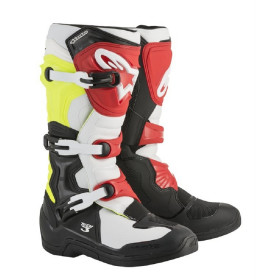 TECH 3 BLACK WHITE YELLOW FLUO RED 10