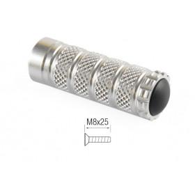 Repose-pieds LIGHTECH M8x25 argent