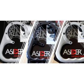 Poignée de réservoir A-SIDER Black Edition sans vis noir