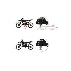 Repose-pieds S3 Curve High noir KTM/Husqvarna