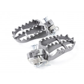 Repose-pieds S3 Hard Rock Enduro acier titane