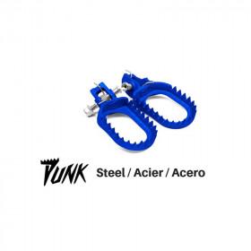 Repose-pied S3 Punk acier bleu