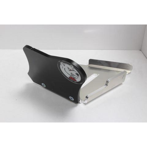 Protection de triangle arrière AXP alu phd 6mm Can-Am 2019