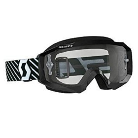 GOGGLE HUSTLE MX BLACK/WHITE LI SE GR WO