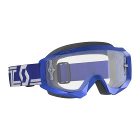 SCO GOGGLE HUSTLE X MX BLUE/WHITE CLEAR