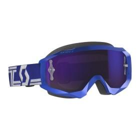 SCO GOGGLE HUSTLE X MX BLUE/WHITE PUR CH