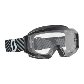 SCO GOGGLE HUSTLE X MX BLACK/WHITE CLEAR